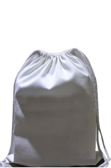 EPB011 白色帆布袋 製造索繩購物袋 訂購束口帆布袋 帆布袋供應商