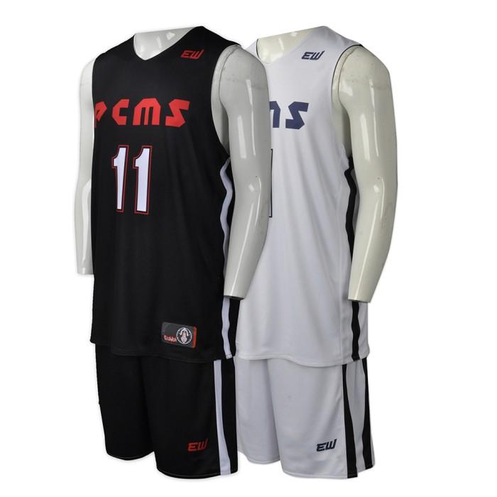 WTV138  製造雙面運動套裝款式   自訂籃球運動套裝款式    雙面穿  籃球衫  設計個性運動套裝款式   運動套裝工廠