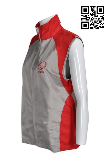 V151訂造活動專用背心外套  訂購輕薄背心外套 醫院 醫療護理工作人員 制服背心 來樣訂造背心外套 背心外套hk中心