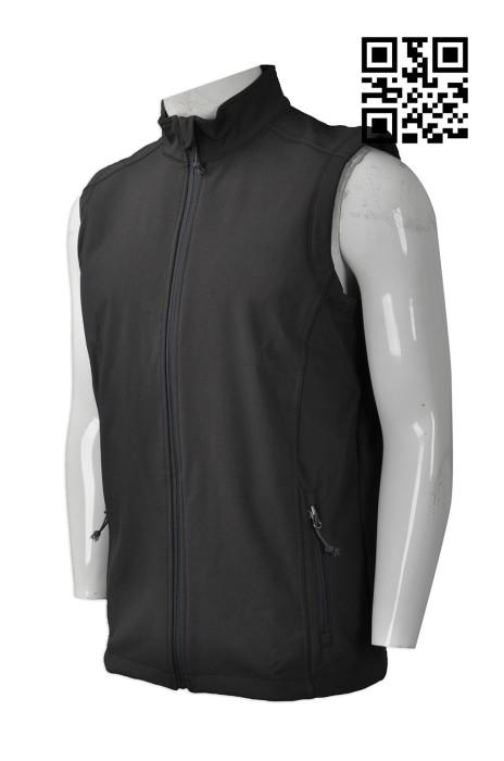 V167  來樣訂造背心外套款式    製作LOGO背心外套款式   中国  複合布 背心   自訂男裝背心外套款式   背心外套製衣廠