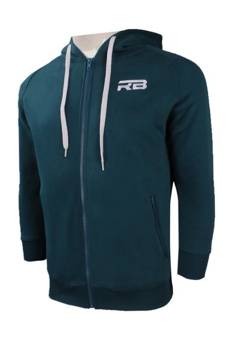 Z381 網上訂購帶帽款衛衣 團體訂製繡花logo款衛衣 澳洲 RB 設計衛衣批發商