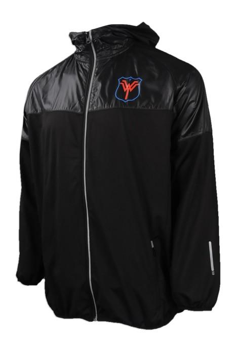 J747 度身訂做風褸外套 自製反光風褸外套 澳門 粵華中學 風褸外套製造商