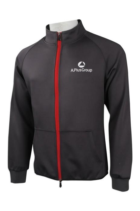 J781 訂購牛角袖外套  來樣訂做風褸外套 HK  大量訂造拉鏈外套 softshell 軟殼 四面彈 吸排內裡 電熱水器行業 外套製衣廠