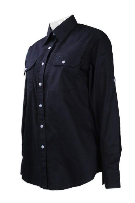 R242 訂製修身版中袖恤衫 供應中袖恤衫 澳洲 HH 恤衫供應商