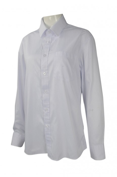 R255 來樣訂做長袖恤衫 團體訂購修身恤衫 澳門 勵庭酒店 設計制服恤衫專營店