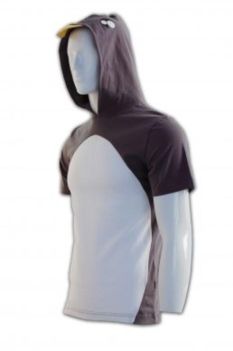 CT020 自製班衫 有帽 訂團體班衫 DIY班衫