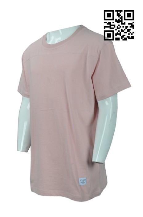 FA319  訂購印花大碼T恤 供應淨色寬鬆T恤 網上下單T恤 T恤製衣廠