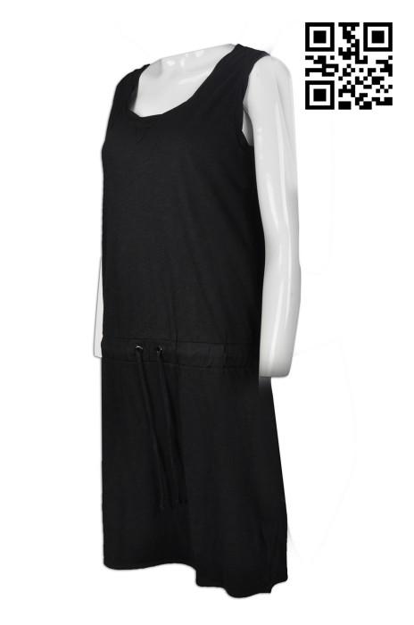 FA326 設計女裝時裝款    訂造淨色連衣裙時裝款     製作時裝款款式   時裝專門店