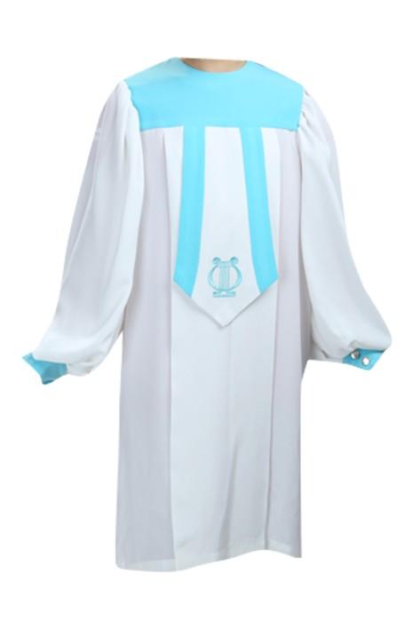 SKPT031  訂購聖服  基督教服飾 兒童聖袍 受浸洗 受浸禮 唱詩班服 詩班服 聖詩服 受洗服 聖詩袍供應商