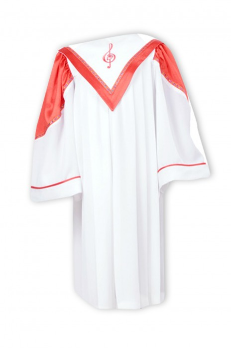 SKPT048  大量訂造聖服  基督教服飾 兒童聖袍 唱詩班服 詩班服 聖詩服 受洗服 聖詩袍hk中心