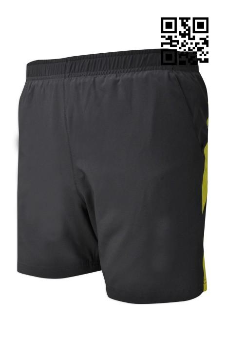 U298  訂造個性運動褲款式    自訂拼色運動褲款式   反光拉鍊貼袋口 製作反光效果運動褲款式   運動褲廠房