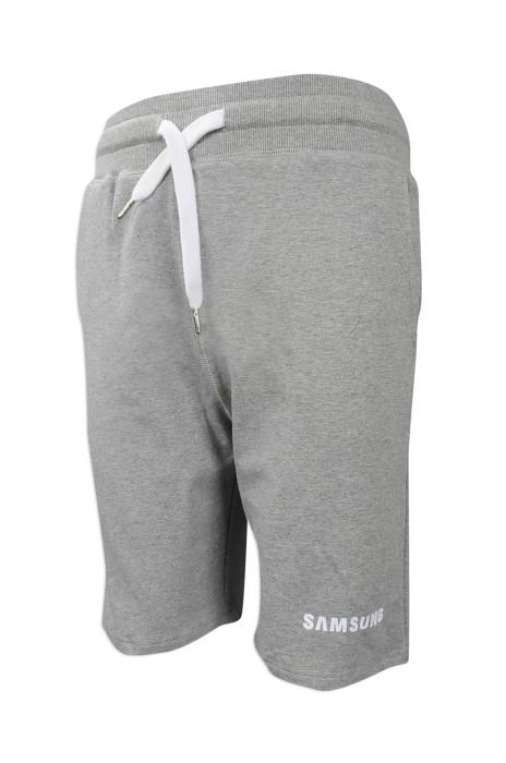 U316 網上訂購運動短褲 來樣訂做休閒運動短褲 瑞士 RB 運動短褲制服公司