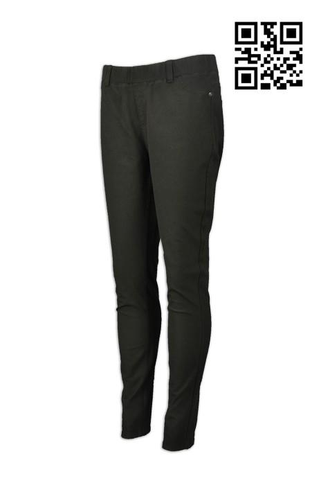 H214 訂做度身斜褲款式   製作女裝斜褲款式   設計淨色斜褲款式   斜褲專營