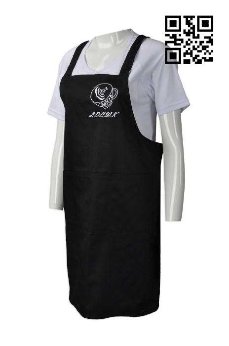 AP098  自訂度身圍裙款式   設計餐飲圍裙款式  café 咖啡廳 咖啡店圍裙  訂做全身圍裙款式   圍裙專賣店