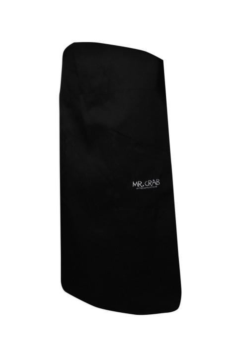 AP103  設計西餐廳圍裙   供應廚師專用圍裙  防油 防污 侍應圍裙 接待員圍裙 訂購半身廚師圍裙  圍裙專門店