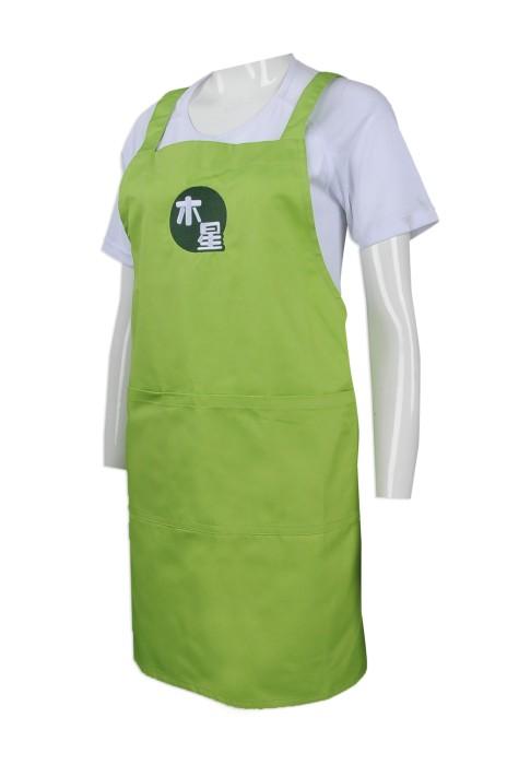 AP101  來樣訂造圍裙  設計繡花logo圍裙  大量訂造廚房圍裙  圍裙供應商