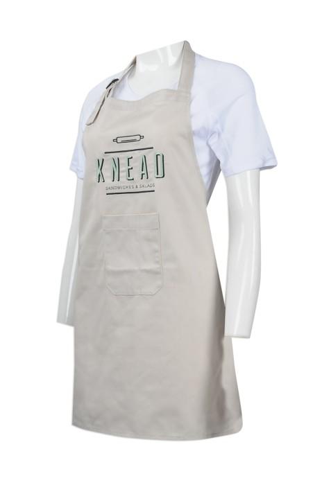 AP106 訂做員工專用圍裙 自製logo印花圍裙 設計圍裙 圍裙專營店