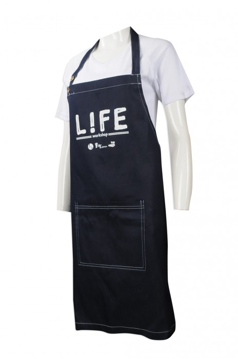 AP109 製作員工專用圍裙 設計西餐圍裙款式 非牟利 團體飯堂 員工制服 訂造牛仔圍裙專營店