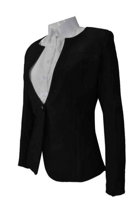 BWS083 個人設計女西裝  度身訂造西裝外套   大量訂造女西裝  女西裝供應商