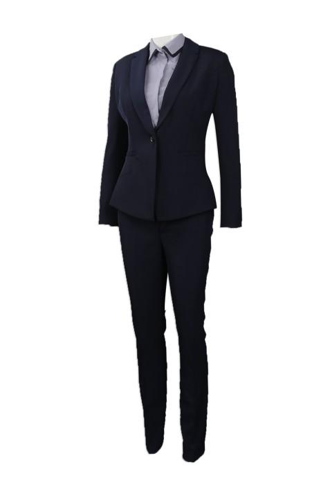 BWS091 大量訂做女裝西裝 設計女裝制服西裝套裝 西裝供應商