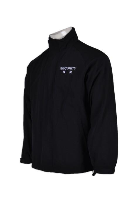 SE051量身訂做保安風褸  設計保安制服工衣  訂做保安制服布料  保安制服專門店HK