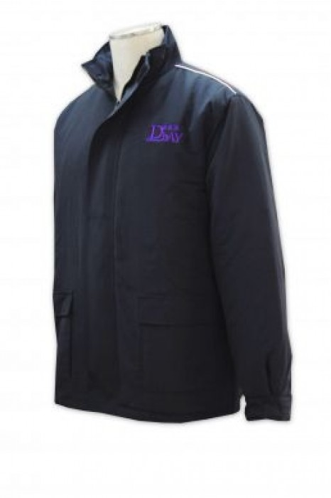 SE036 制服外套來版定制 物業保安外套 制服外套設計 保安制服專門店