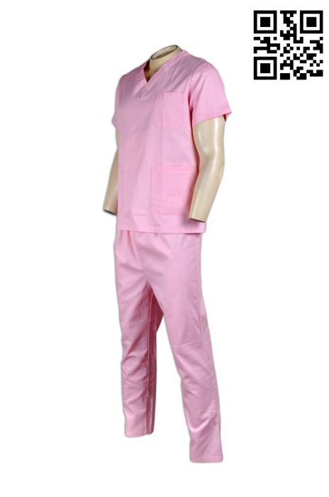 NU024 專業訂做護士制服 訂購醫院診所制服  訂做醫生制服  醫院制服供應商HK  醫護衫褲