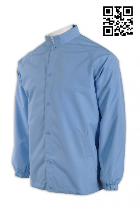 NU032自定淨色男護士制服 來樣訂造男護士制服 度身訂造男護士制服  護士制服專門店hk