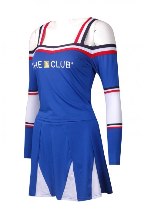 CH161 訂制內膽裙啦啦隊服 設計內膽裙啦啦隊服  啦啦隊服製造商