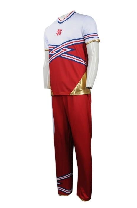 CH165 度身訂製男裝套裝啦啦對服 團體訂做男裝啦啦對服 學校 團體 啦啦對服供應商