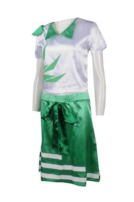 CH189 製造個性啦啦隊服   自訂分體啦啦隊服款式    設計女裝啦啦隊服款式    啦啦隊服專營