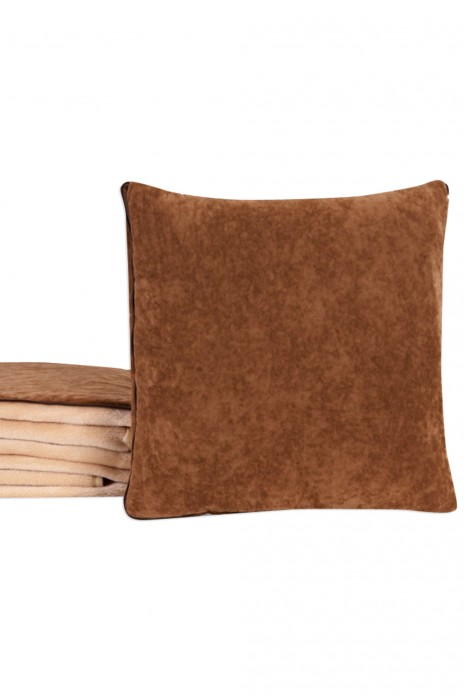 HP004 設計LOGO抱枕  被子兩用靠墊毯靠枕 折疊汽車多功能抱枕毯 抱枕製衣廠  35x35cm