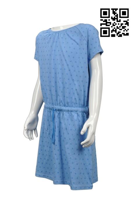 KD016 自製童裝時裝款式   訂做度身時裝款式  直身裙 連身裙  設計時裝款式   時裝製造商