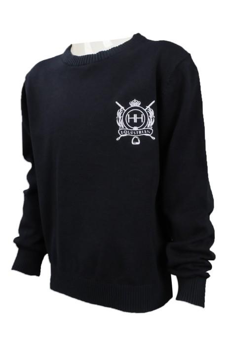 KD024 網上下單小童毛衫款式 設計兒童針織毛衫 秋冬 毛衫 小學校服 澳洲 HH 100% cotton 小童毛衫網上專營店