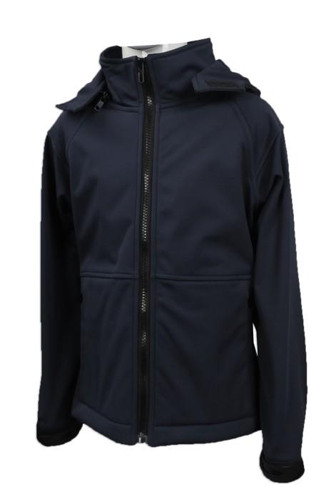 KD046 設計軟殼布風褸外套 訂造童款複合布風褸 澳洲 HH  親子套裝 親子 家庭套裝 來樣訂造童裝外套 外套製衣廠