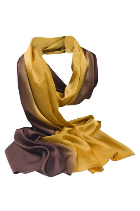 SKSL001 製造真絲圍巾 訂購漸變防曬沙灘絲巾 澳門 德晉集團 披肩兩用 絲巾製造商