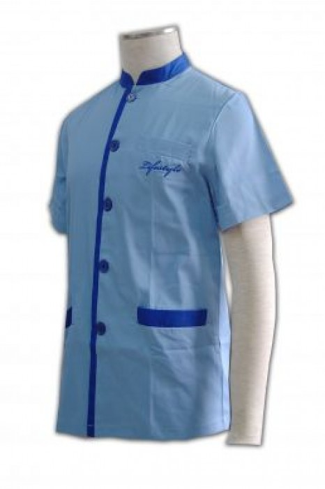 CL010 清潔 保健 接待制服供應商 清潔服訂造   製作清潔服裝