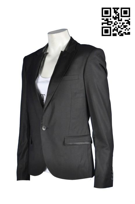 BS341訂造職業男西裝  訂購銀行西裝外套 設計西裝外套款式   訂造男西裝褸 平做西裝供應商