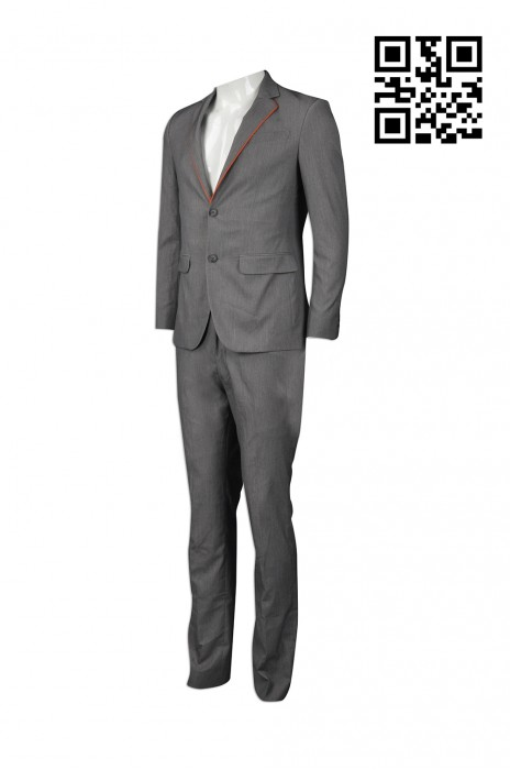 BS350 製作公司男西裝款式    訂做男西裝款式   旅遊接待 導遊制服 旅行社制服   設計男西裝款式   西裝製衣廠