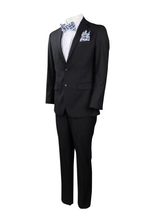 BS358 來樣訂做西裝套裝 訂造手帕領結修身西裝 領巾 袋巾 熱升華 美國  EI  Global  活動 party 西裝 西裝製造商