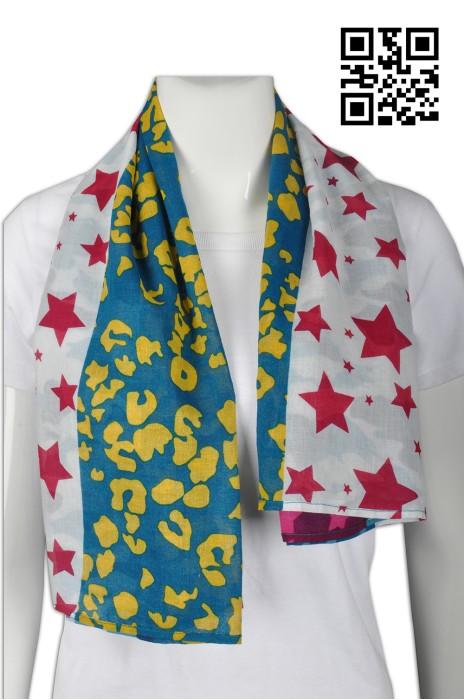Scarf039 訂製個性圍巾款式    設計LOGO圍巾款式  彩色圍巾  自訂圍巾款式   圍巾製造商