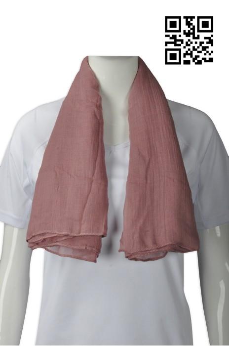 Scarf041  訂造淨色圍巾款式    設計披肩式圍巾款式   雪紡  自訂女裝圍巾款式   圍巾專營