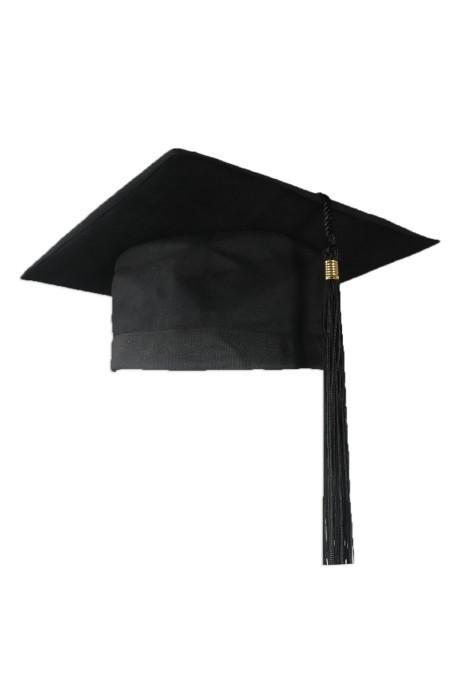 GGC011 製作畢業帽 自訂大學黑色畢業帽 設計畢業帽供應商