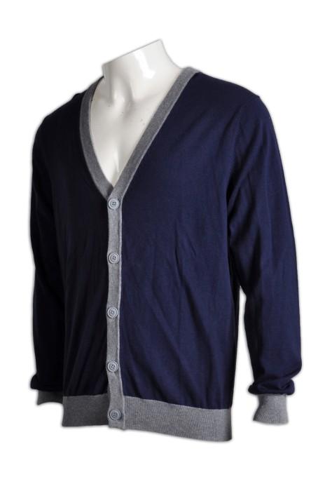 CAR012度身訂造冷外套 訂做男裝學校冷外套 設計開胸冷外套公司 冷外套批發商