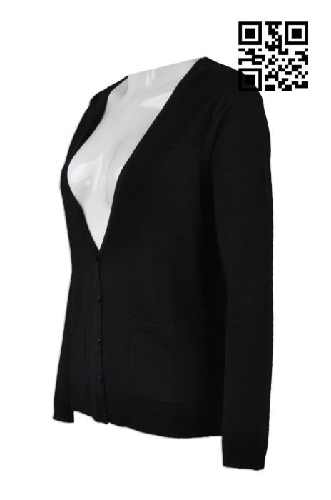 CAR019 訂購V領女款冷外套 度身訂造冷外套  大量訂造冷外套 冷外套專門店