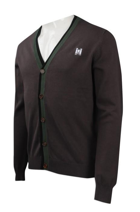 CAR028 團體訂購針織冷外套 設計開衫冷外套 冷外套批發商
