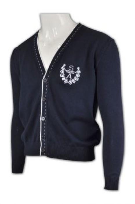 CAR007  大量訂購冷衫  開胸針織線衫  專業訂造冷衫公司  冷衫批發商