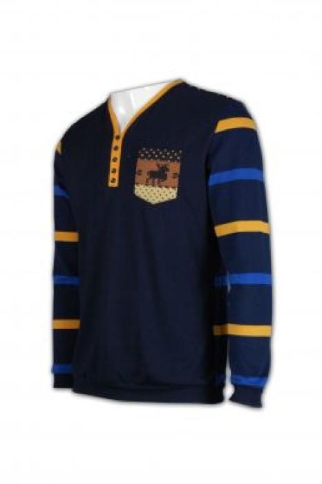 JUM009 訂做毛線衫 條紋冷衫 男裝毛衫外套 毛線衫批發