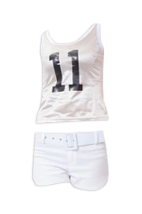 SKCU002 訂購啦啦操服裝 學生足球拉拉隊服 健美操服 兒童演出服男女 啦啦隊服製造商  現貨 價格