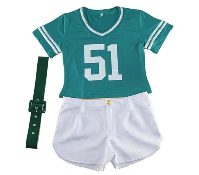 SKCU009 訂做足球寶貝啦啦隊服款式   自訂兒童套裝啦啦隊服款式    製作啦啦隊隊服款式   啦啦隊生產商